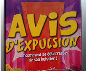 AVIS D'EXPULSION INTERNET