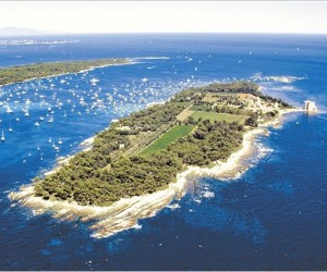 ILE ST HONORAT SITE