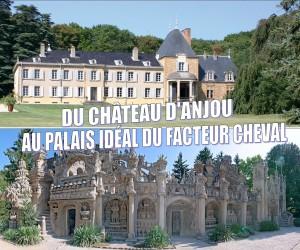 CHATEAU D'ANJOU TE PALAIS DU FACTEUR CHEVAL